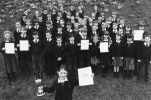 Pupils of Hunter Hall School, Penrith